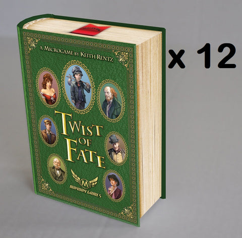 Twist of Fate MicroGame 2-4 Player Card Game Themed on Oliver Twist X12 (Full Case) **81% off** -$2.50/copy!