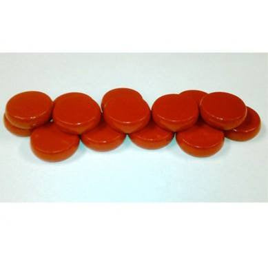 14 Red Crokinole Discs -  - Mayday Games