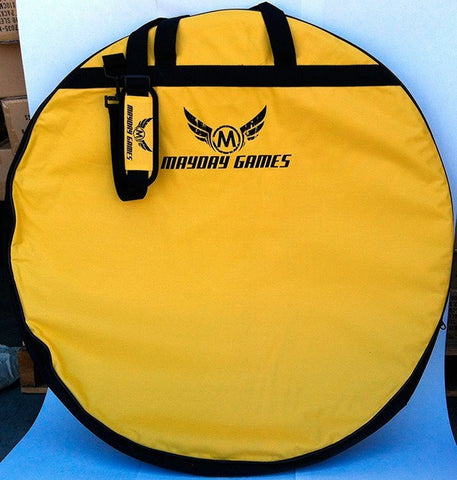 Carrying Case for Crokinole - Yellow (Crokinole bag) -  - Mayday Games