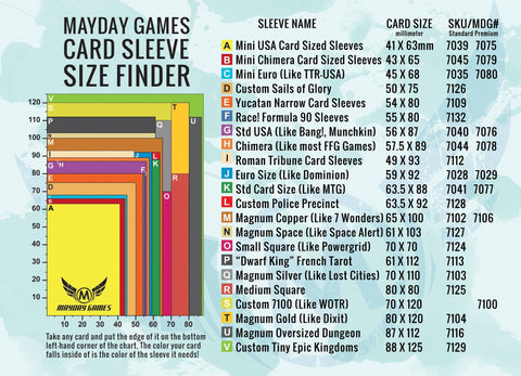 Mayday Games Sleeve Finder -  - Mayday Games