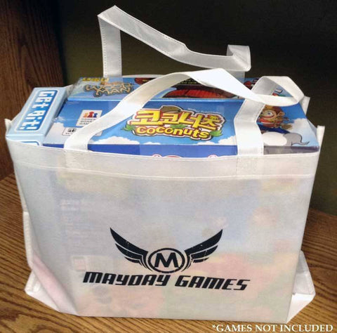 White Swag Bag Mayday Games Logo -  - Mayday Games - 1