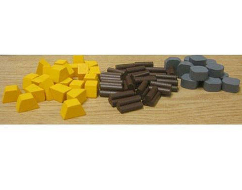 Kings Deluxe Wooden Token Set -  - Mayday Games - 1