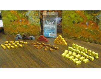 Stone Age Wooden Token Set -  - Mayday Games
