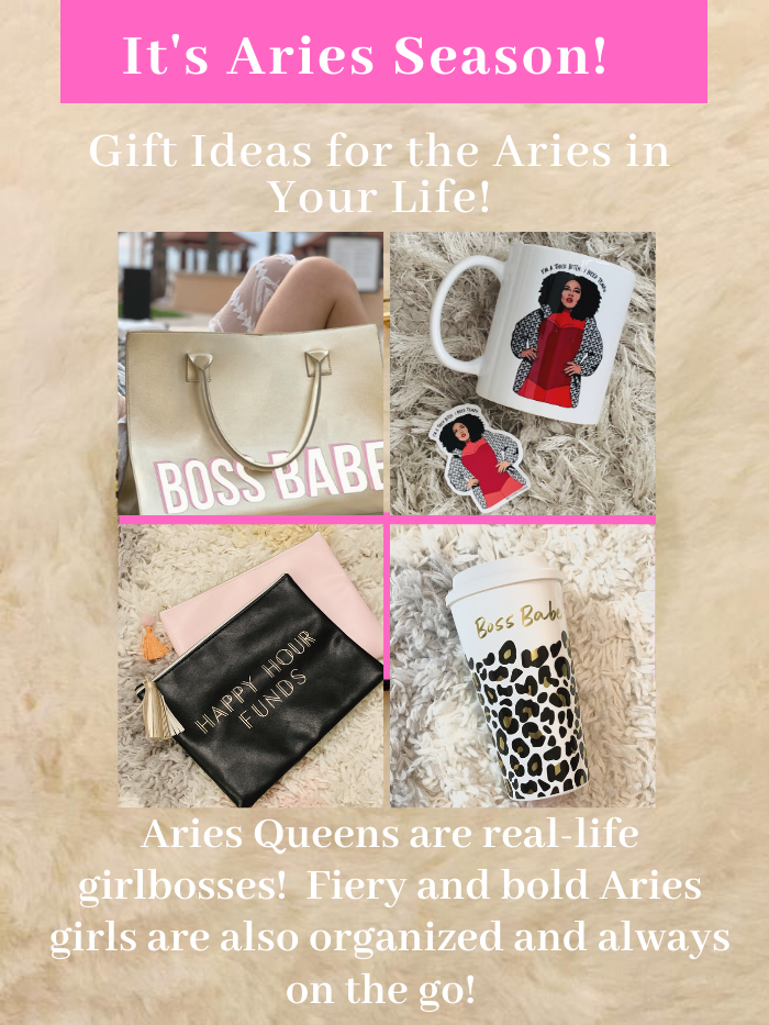 It's Still Aries Season--Fabulous Birthday Gift Ideas for the Aries Queen