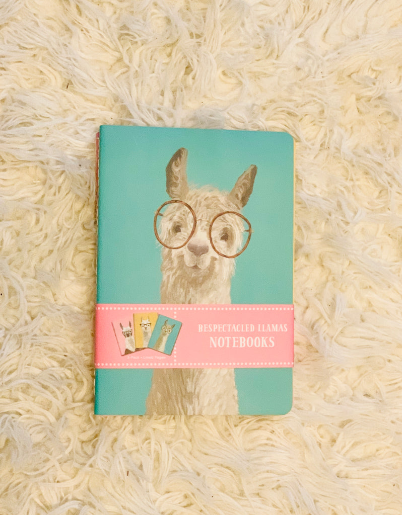 Respectable Llamas Notebooks | Set of 3