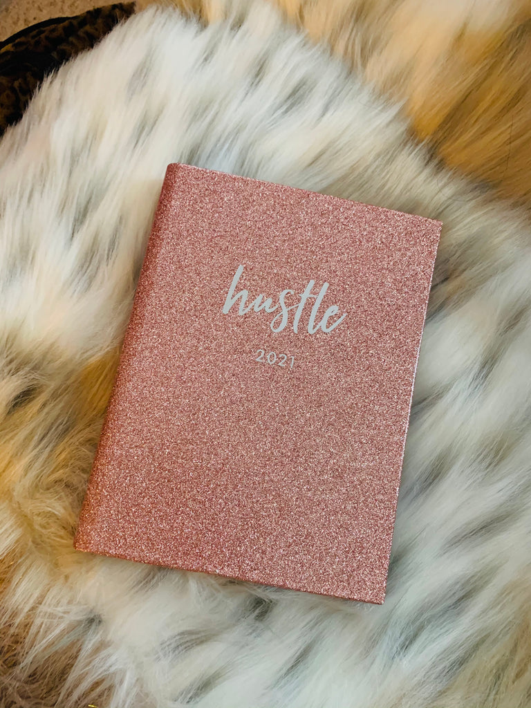 """Hustle"" 12 Month Monthly/Weekly Binder Planner 