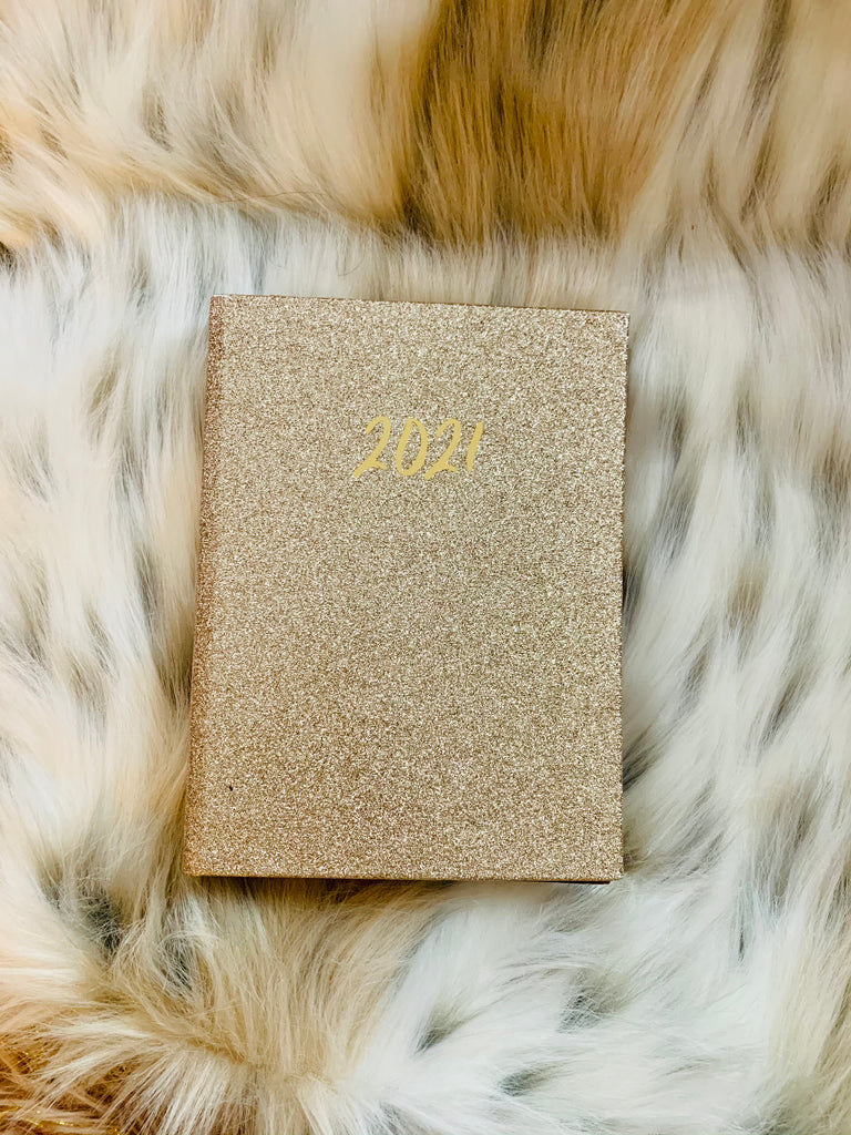 12 Month Monthly/Weekly Binder Planner | Gold