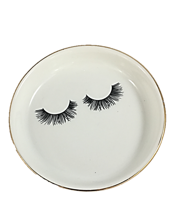 """Gorgeous Lashes"" Trinket Tray"
