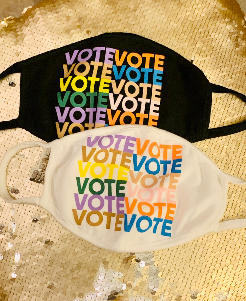 Vote! Vote! Vote! Face Mask