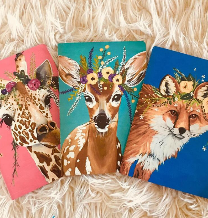 Flower Crown Creatures Journals | Wildlife Edition 2