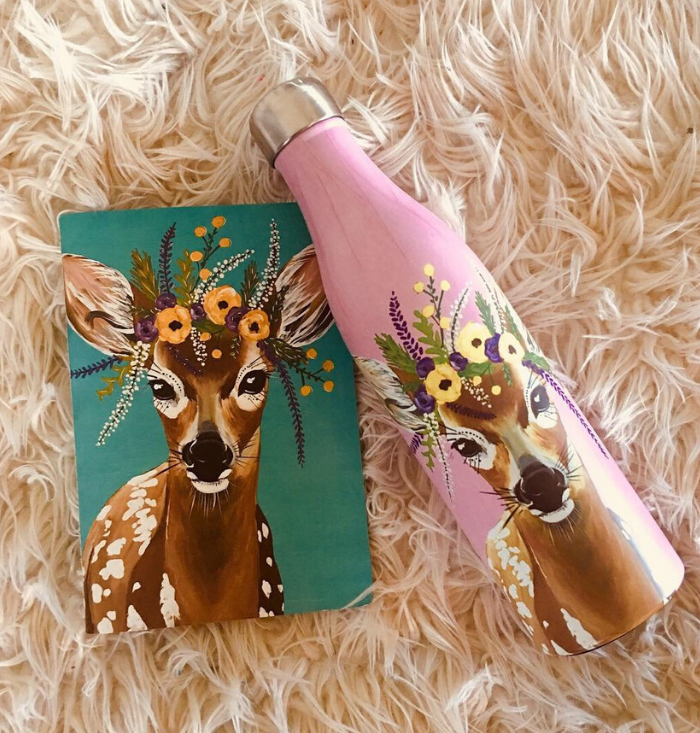 Flower Crown Creatures Gift Set | Wildlife Edition