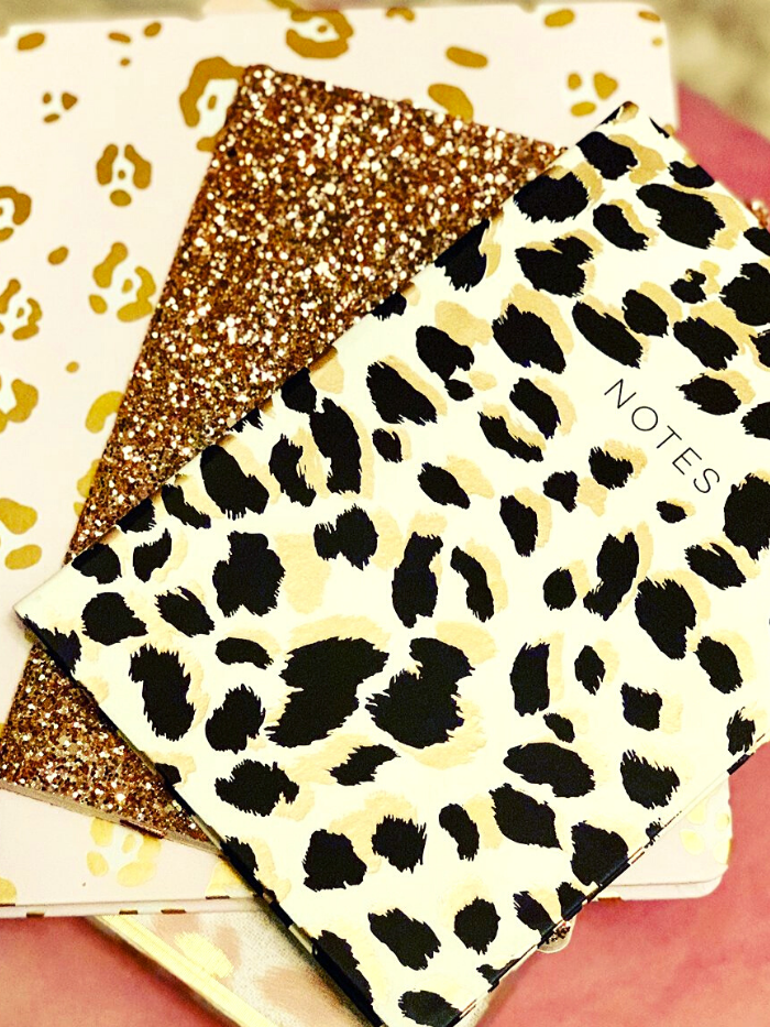 Leopard Print Soft Journal