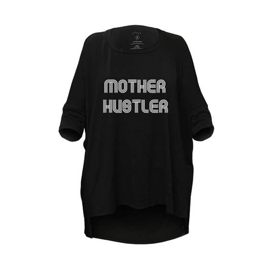 """Mother Hustler"" Oversized Tee"
