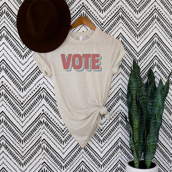 Vote! Retro Graphic Tee