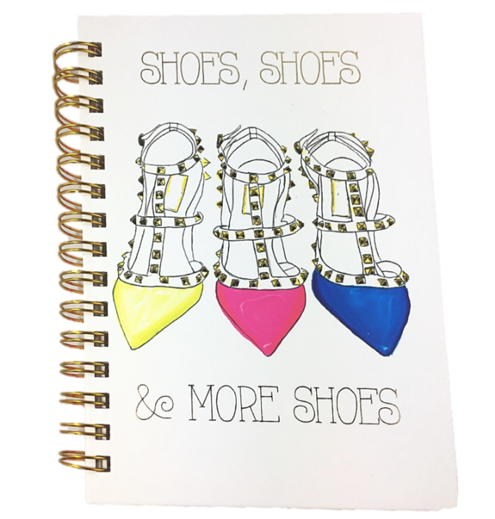 """Shoes, Shoes & ..."" Notebook"