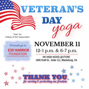 11.11 VETERAN'S DAY YOGA