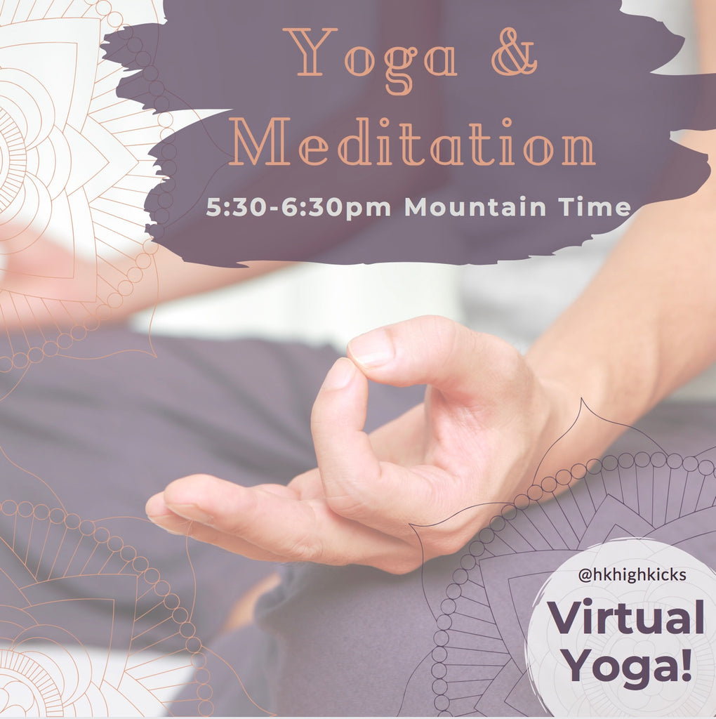 Virtual LIVE Yoga & Meditation