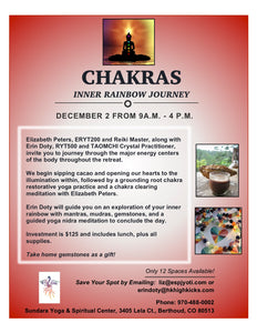 Chakras: Inner Rainbow Journey at Sundara