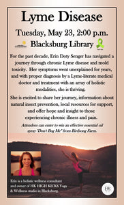 Lyme Disease Awareness Talk