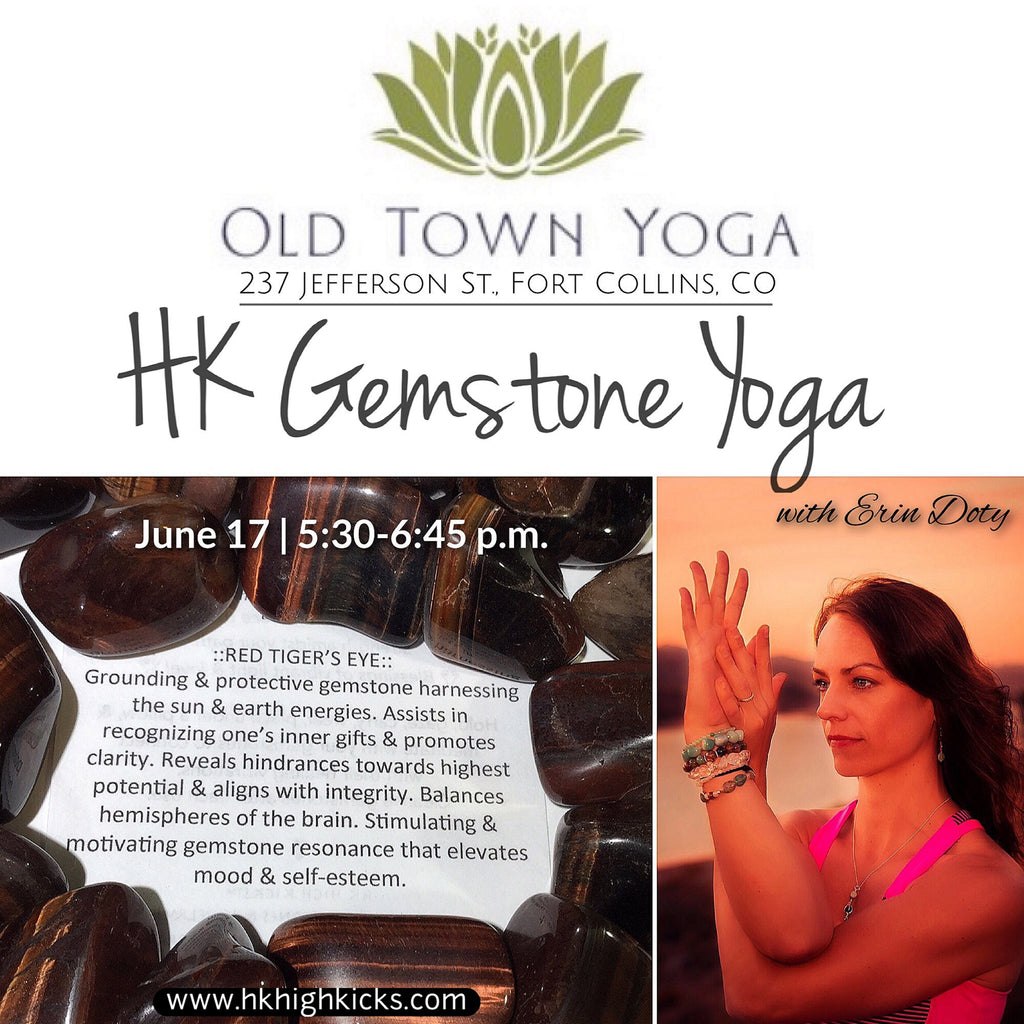 HK Gemstone Yoga at Old Town Yoga | Fort Collins, Colorado