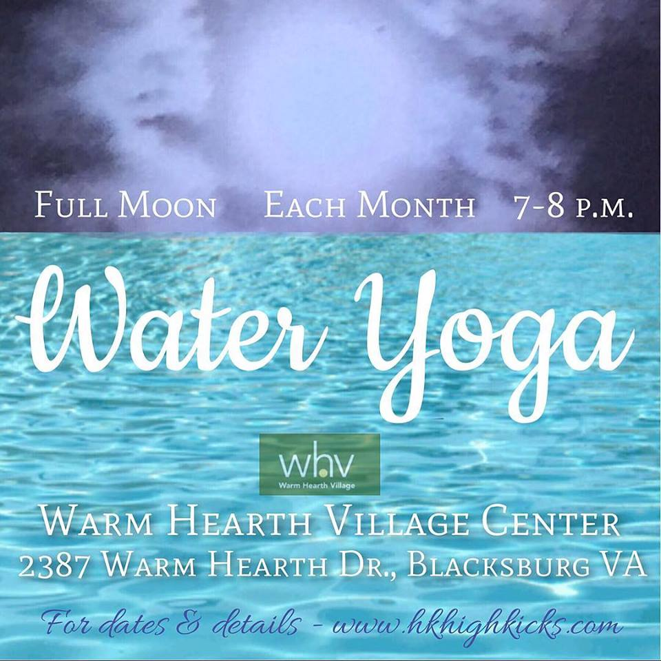 WATER YOGA at Warm Hearth