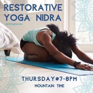 Virtual LIVE Restorative Yoga Nidra