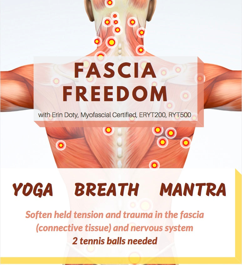 Virtual LIVE Fascia Yoga