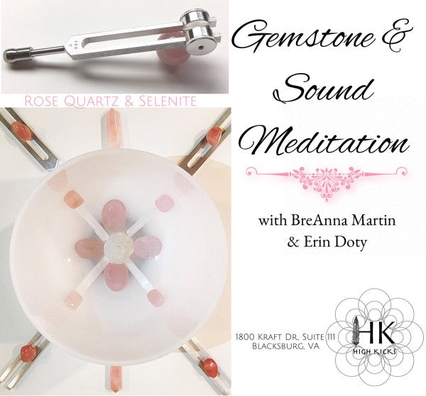 Gemstone & Sound Meditation with BreAnna & Erin
