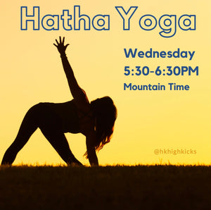 Virtual LIVE Hatha Yoga