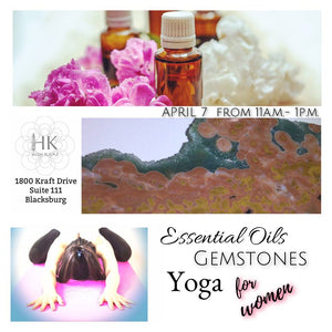 Essential Oils, Gemstones & Yoga for Women