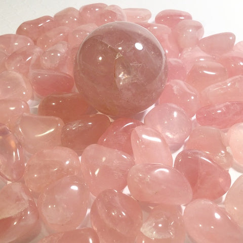 ::ROSE QUARTZ:: Gemstone - HK HIGH KICKS