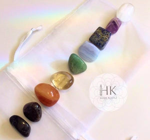 ::CHAKRA:: Gemstone Sets - HK HIGH KICKS