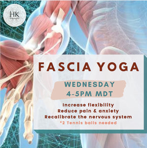Virtual Fascia Freedom Yoga - HK HIGH KICKS