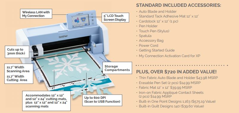 ScanNCut Brother Precision Sewing Machines