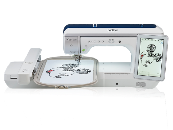 Brother Luminaire Innov-ís XP1 Embroidery Sewing And Quilting Machine