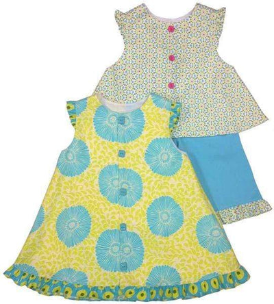 Children's Corner Patterns Children's Corner CC242B Charlotte A-line swing jumper Pattern Size 5-8