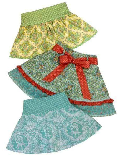 Children's Corner Patterns Children's Corner CC269B Sassy Skirt Pattern Sizes 6-10