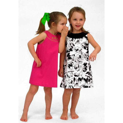 Children's Corner Patterns Children's Corner CC275B Jacqueline Frock That Buttons Down The Back Sizes 7-12