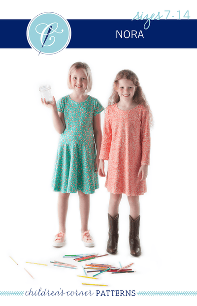 Children's Corner Patterns Children's Corner CC289B Nora Dress Pattern Size 7-12