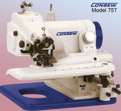Consew Industrial Machines Consew 75T Blindstitch Blind Hemmer Machine