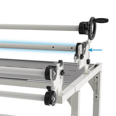 Grace Quilting Frames Grace Idler Rail -for Continuum Machine Quilting Frames 8, 10, (or 12' Extended)