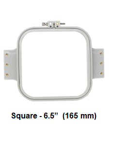 Hooptech Accessories Hooptech 6.5 SQ-J  Square Hoop 6.5 For Janome MB4