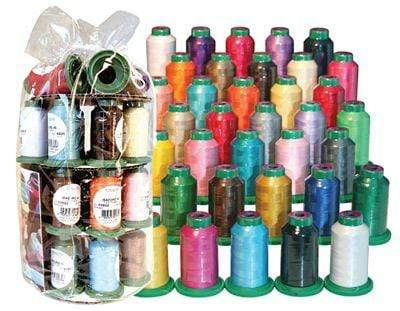 Isacord Thread Isacord ISGIFTBX35 Isacord Embroidery Thread 35 Assorted Spools 1000m