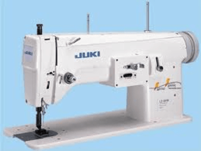 Juki Industrial Machines Juki LZ-391N 1-needle, Lockstitch, Zigzag Stitching Machine and Embroidering Sewing Machine