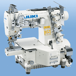 Juki Industrial Machines Juki MF-7200D Series Semi-dry-head, Small-cylinder-bed, Top and Bottom Coverstitch Machine