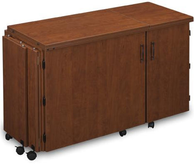 Sylvia Cabinets and Tables Sylvia Quilting and Sergering Combo Cabinet Model 1050Q