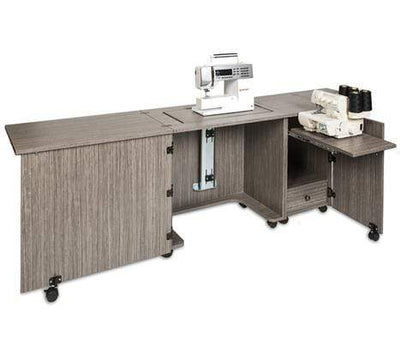 Sylvia Cabinets and Tables Sylvia Sewing Machine and Serger Cabinet Combo Model 1050 Twilight