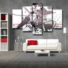 Image of Attack on Titan Captain Levi 3D Printed 5 Piece Canvas
