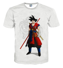 DRAGON BALL Z AWESOME GOKU STYLE SHIRTS FULL PRINTED CLOTHING