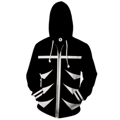 Image of Tokyo Ghoul - Anime Zip Up Jackets - 3D Armour Hoodie